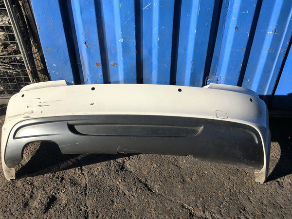 BMW 1 SERIES E88 2012 M-SPORT REAR BUMPER COUPE\CONVERTIBLE