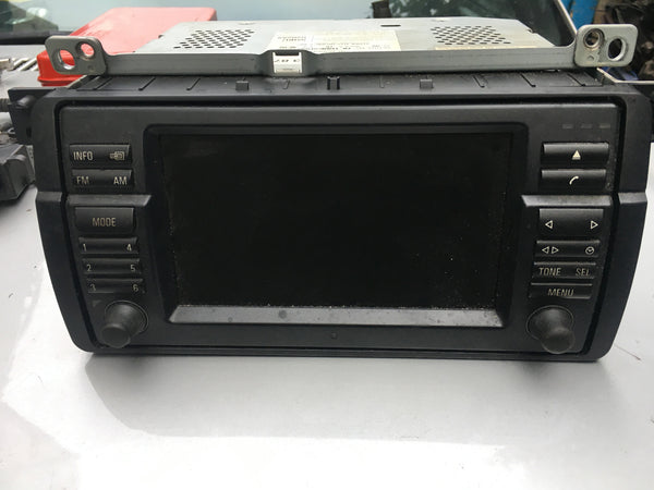 65526923871 BMW 3 SERIES E46 2004  GPS NAVIGATION BLUETOOTH RADIO