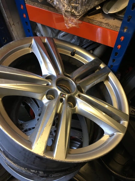 7845853 BMW 1 SERIES 2016 F20 ALLOY WHEEL