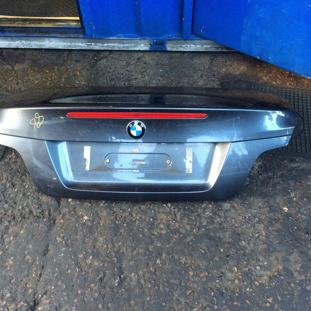 BMW 1 SERIES 2012 E88 CONVERTIBLE BOOT LID