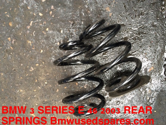 BMW 3 SERIES E 46 REAR COIL SPRING CARRIER
