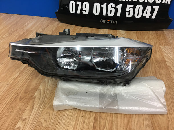 BMW 3 SERIES F30 2014 PASSENGER SIDE HEADLIGHT