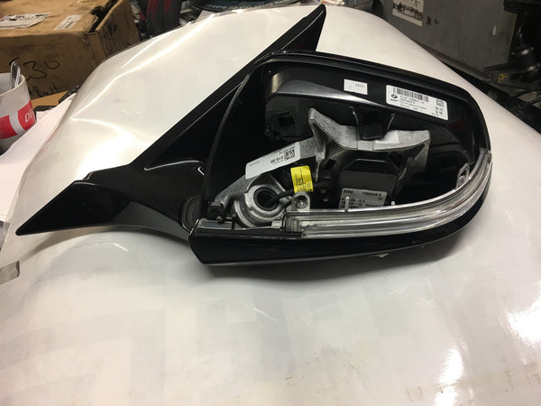 BMW 1 SERIES 2015 F21  PASSENGER SIDE WING MIRROR