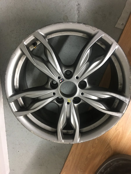 7845871 Bmw 1 series F20 M135 ALLOY WHEEL 436