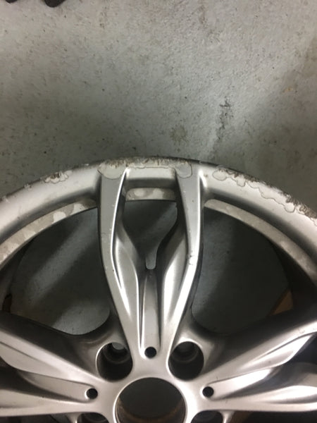 7845871 BMW 1 SERIES M135i  F20 F21 REAR ALLOY. with an air line crack needs repair