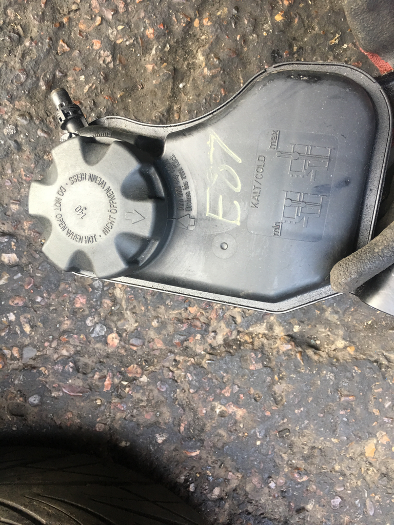 Bmw 1 series 120i petrol 2006 Header tank
