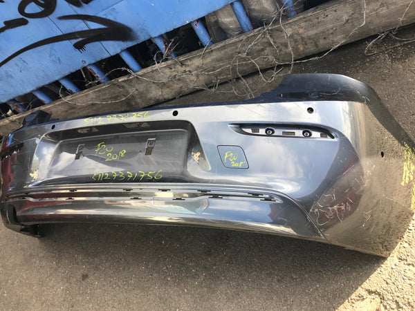 BMW 1 Series 2018 f20 Rear standard bumper