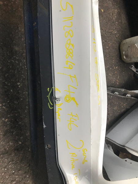 51128058869 BMW 2 Series 2016  Active Tourer F46 Rear m-sport Bumper needs repair/respray