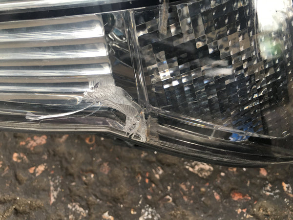 BMW 5 SERIES 2005 E 60 DRIVER SIDE HEADLIGHT INNER AJUSTER BROKEN