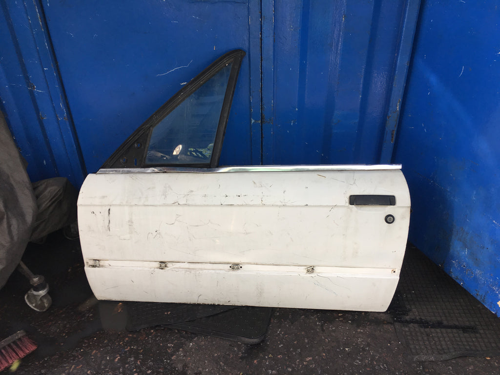 Bmw 3 Series 1989 E30 Convertible Passenger side front door Shell  No glass Needs RESPRAY