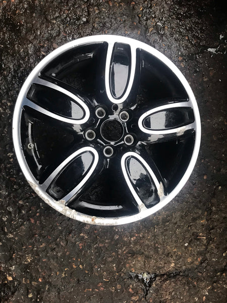 "MINI COOPER S F56 GENUINE 18"" ALLOY WHEEL 6855115 6858900 7JX18"