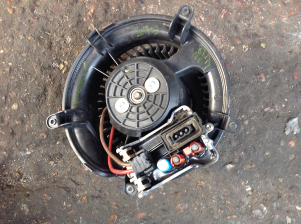 6934390 BMW 7 series 2006 E65 heater blower fan and  motor