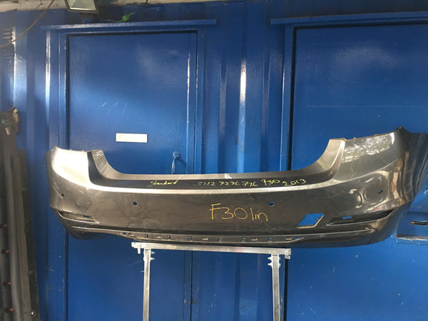 51127276716 BMW 3 Series  2013 F30 line Rear standard bumper