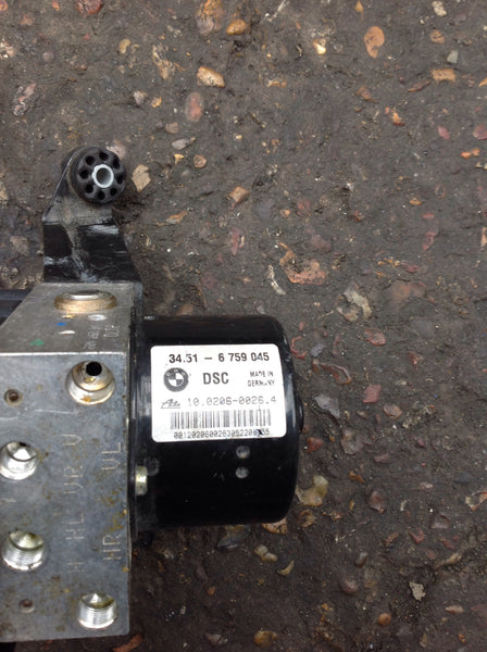 BMW 3 SERIES 325i 2002  E46 Abs pump Dsc 34516759045