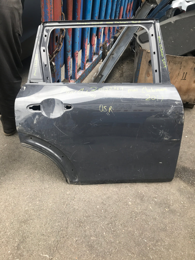Mini clubman 2017 Driver Side Rear Door in grey needs respray