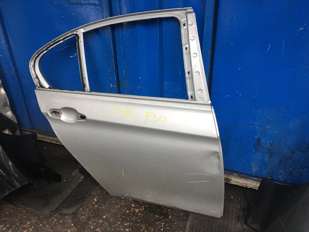 Bmw 3 Series 2017 F30 Driver side rear door shell
