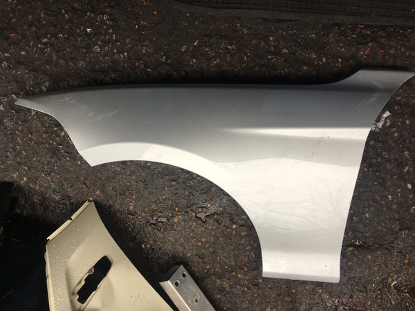 Bmw 1 Series 2017 F20 Passenger side wing in silver