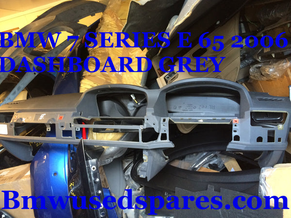 BMW 7 SERIES 2006 E65 730 DIESEL DASH BOARD