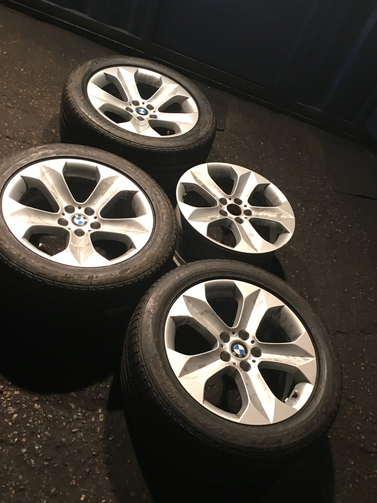 Bmw X6 Alloy Wheels 19 Inch With 3 Tyres 2015 Stly 232