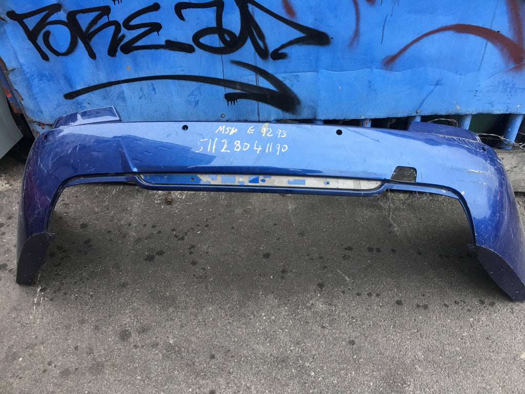 51128041190 BMW 3 series 2011 M-sport Rear bumper