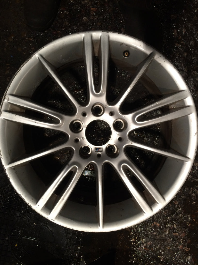"BMW 3 SERIES MV 3 18""INCH STYLE 193 M REAR ALLOY WHEEL E93 36118036934 SCRATCH NEEDS RESPRAY"