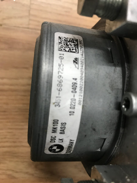 BMW 2 SERIES 2017 M235i F22 N55B30A ABS PUMP 6869725 / 6869726  34516869725