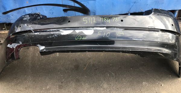 51127184781 BMW 5-Series F10 rear bumper