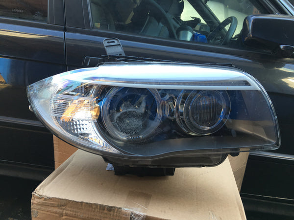 BMW 1 SERIES 2013 DRIVER SIDE XENON HEAD LIGHT NO BALLAST