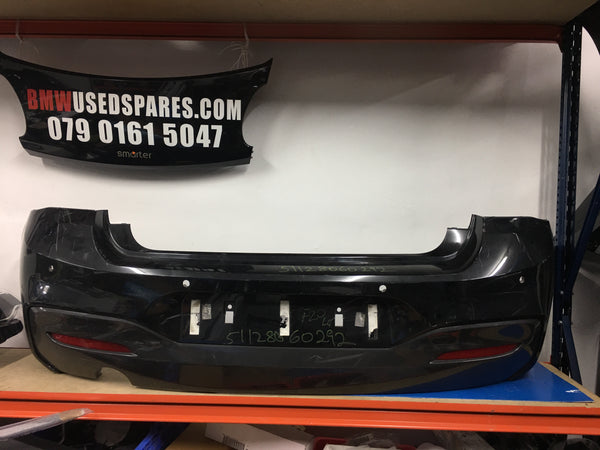 51128060292 Bmw 1 Series 2016 F20 M-sport rear bumper needs respray