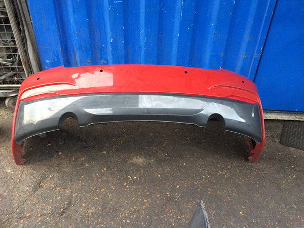 BMW 2 SERIES M- SPORT. REAR BUMPER IN RED 2015 NEEDS RESPRAY 8055574