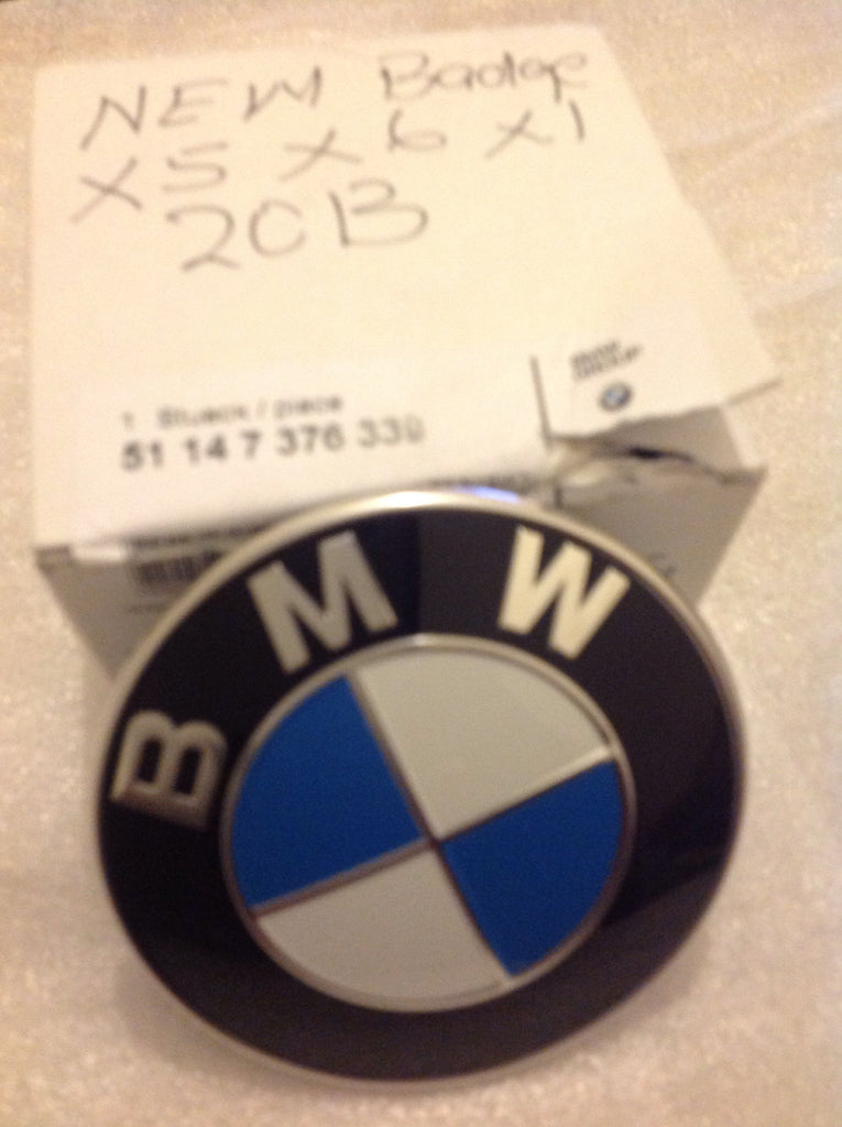51147376339 BMW new badge emblem 2013 X5 X6 X1