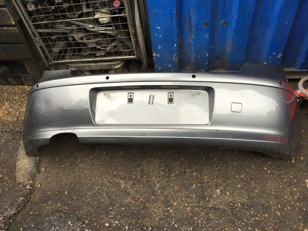 BMW 1 SERIES 2008 STANDARD REAR BUMPER WITH REAR SENSOR HOLES