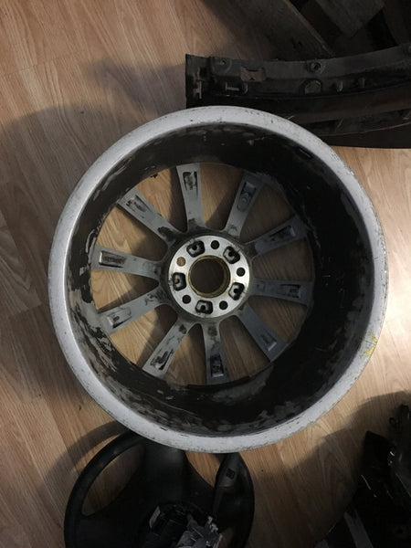 "BMW Z4 ROAD STAR 2012 19"" ALLOY WHEEL 2010 6785257 AIR LINE CRACK"
