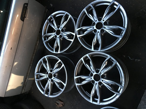 BMW 1 SERIES 2015 ORIGINAL 18 INCH SUMMER ALLOY WHEELS M 1 M436