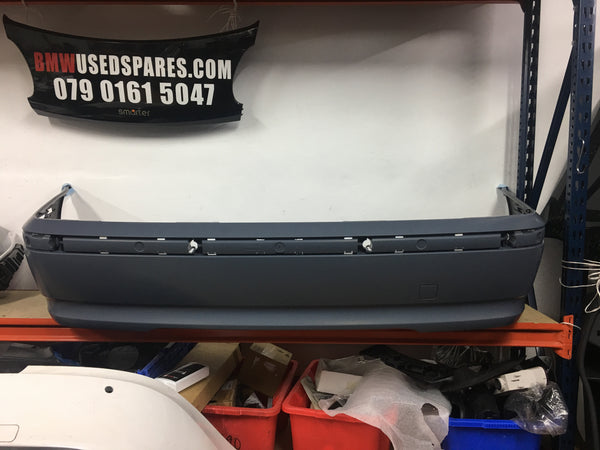 51127030587 BMW 3 Series 2004 E46  4/Door saloon  Rear bumper standard