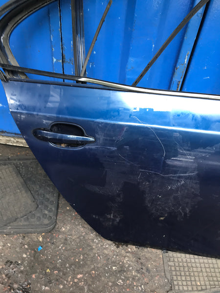 Bmw 5 series 2008 e60 driver side rear door shell