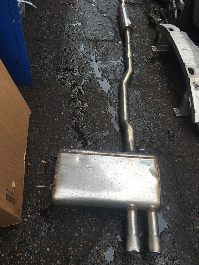 BMW MINI 2015 F45  MIDDLE  TO BACK BOX stainless steal