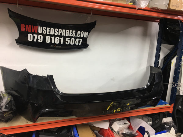 51128054209 Bmw 3 Series 2017 F31  Estate m-sport rear bumper needs respray scuffed