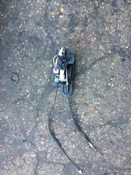 BMW 5 SERIES E60 2005 COMPLETE GEAR SELECTOR WITH CABLED