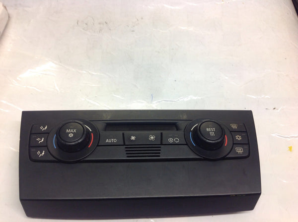 BMW 3 SERIES 2007 E90'door 320i 64116958536  AUTOMATIC AIR CONDITION CONTROL UNIT. CLIMATE CONTROL UNIT