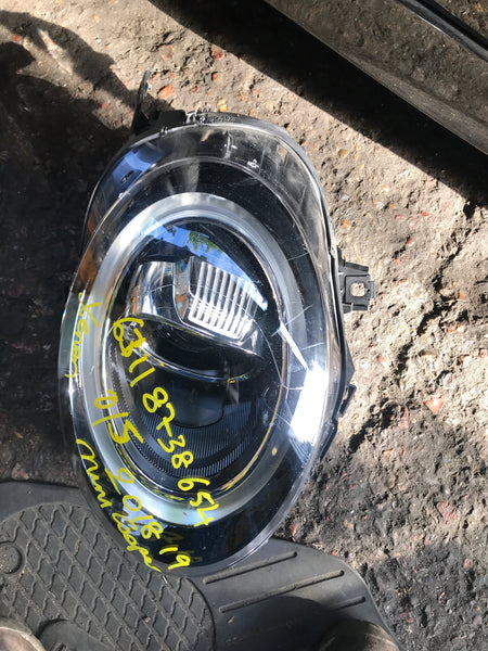 63118738654 Headlight Xenon LED Halo Drivers OSF 8738654 MINI One Cooper S F55 F56 F57 RIGHT
