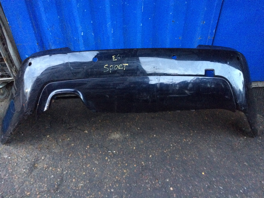 BMW 5 SERIES E60 REAR M-SPORT BUMPER 2007. NEEDS RESPRAY DIFFUSER COLOUR IS DIFFERNT TO THE BUMPER