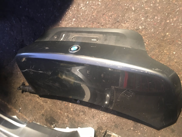 Bmw 5 Series 2006 E60 boot lid