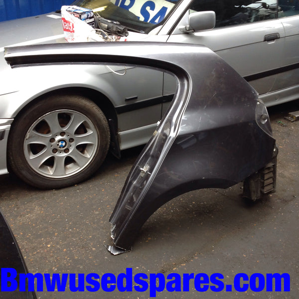 BMW 1 SERIES 2006 4/DOOR SALOON PASSENGER SIDE QUATER PANEL