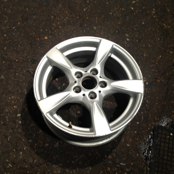 BMW 1 SERIES 17 INCH  6795561 FRONT/ REAR ALLOY WHEEL STYLE 371 LIGHT SCRATCH