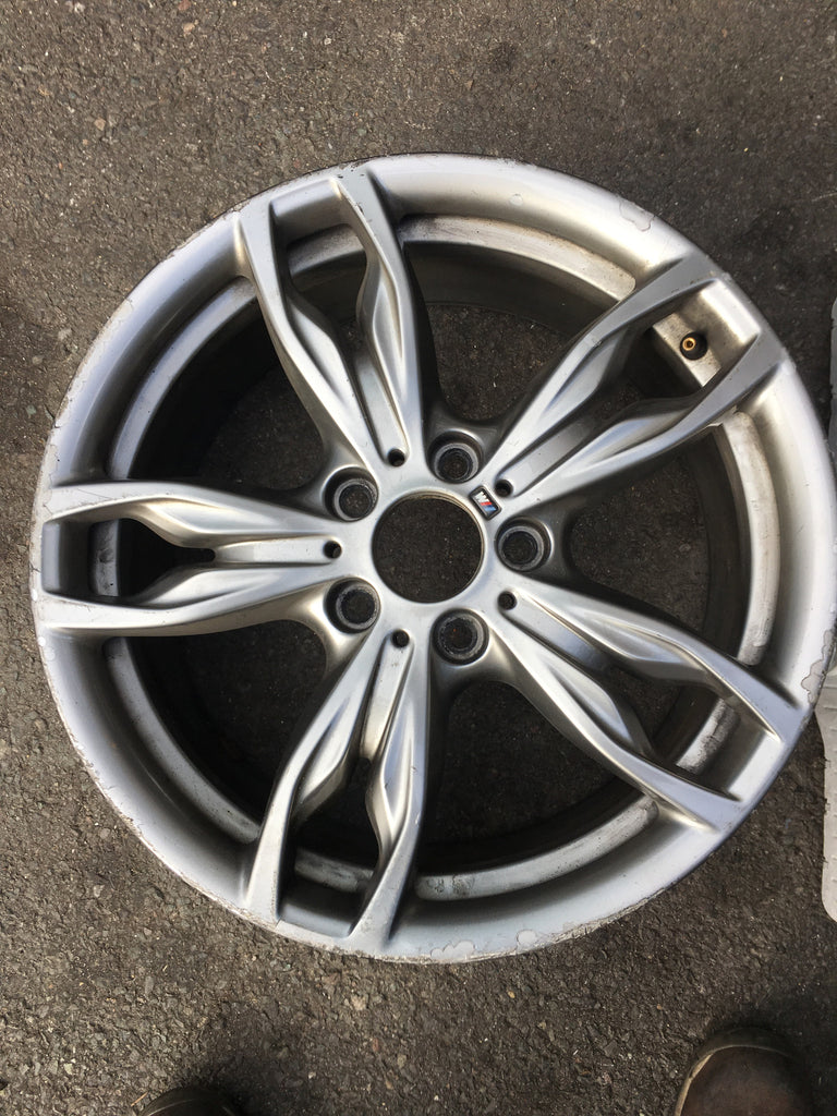 36117845870 BMW 1 SERIES 2016 M DOUBLE SPOKE  FRONT ALLOY WHEEL 7.5J F20 F21