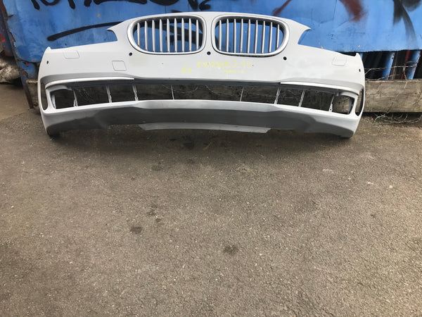 51117295295 Bmw 7 Series 2014 f01 Lci Front bumper primed for spray