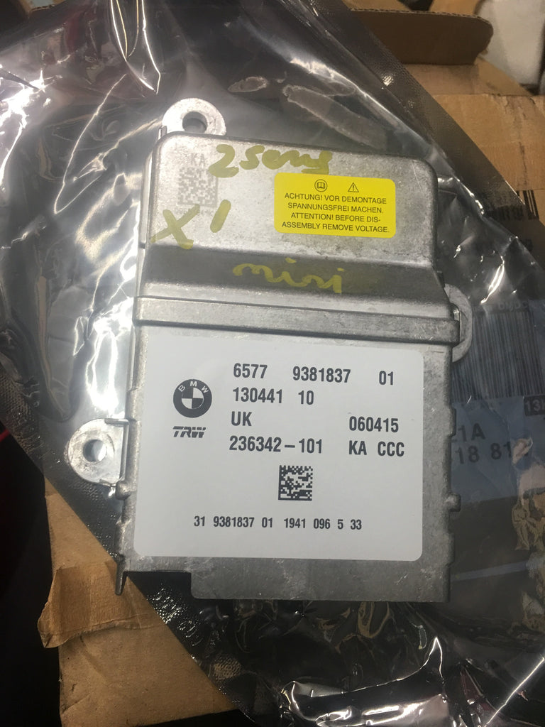 BMW X1 2 SERIES AIR BAG CONTROL MIODULE 65779331837