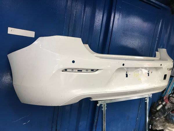 BMW 1 Series 2014 Rear standard bumper
