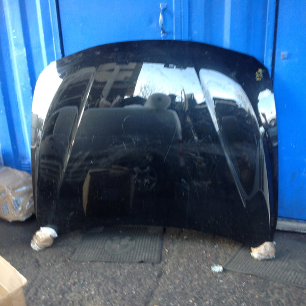 BMW 3 series F30 Bonnet in black  2015 Needs Repair . Shown in picture